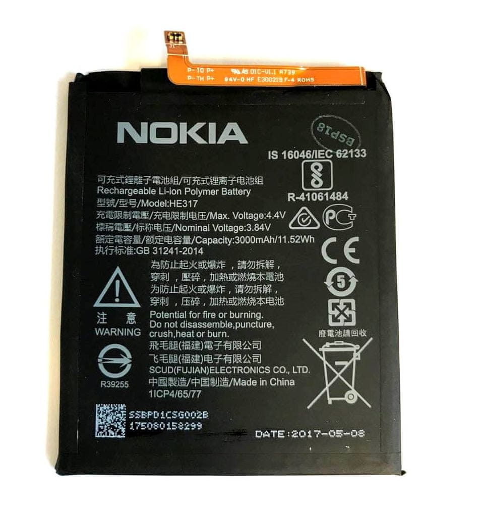 Nokia HE317 Baterie 3000mAh Li-Ion (Bulk) 2437177