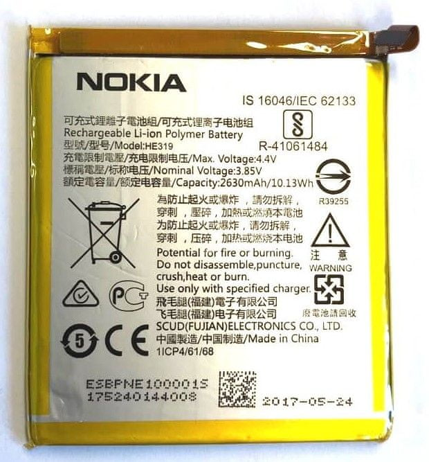 Nokia HE319 Baterie 2630mAh Li-Ion (Bulk) 2435958