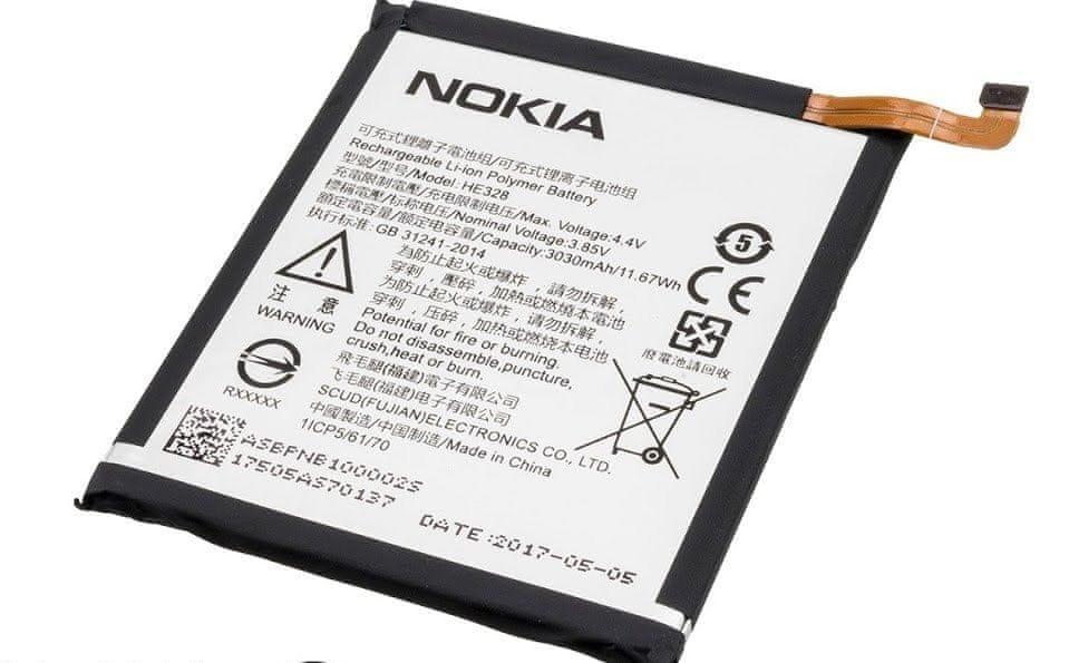 Nokia HE328 Baterie 3030mAh Li-Ion (Bulk) 2437178