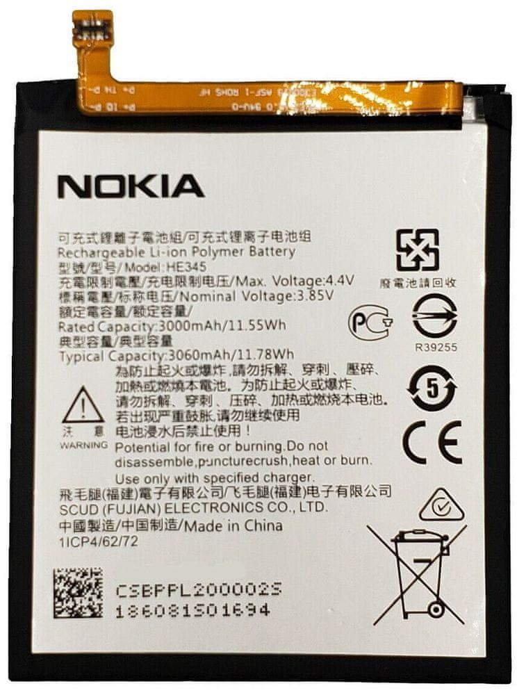 Nokia HE345 Baterie 3000mAh Li-Ion (Bulk) 2446154