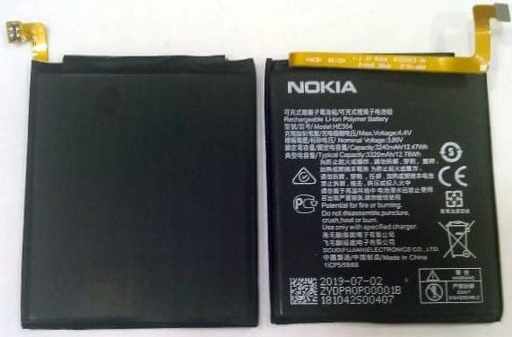 Nokia HE354 Baterie 3320mAh Li-Ion (Bulk) 2448934