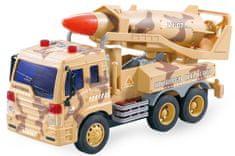 Lamps Vojaški avto z raketo