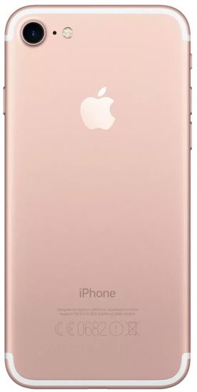 Apple Refurbished iPhone 7, 32 GB, Rose Gold - rozbalené