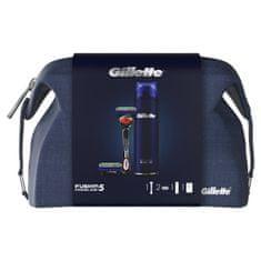 Gillette Zestaw prezentowy - Maszynka Fusion5 ProGlide + 1 głowica + Żel do golenia