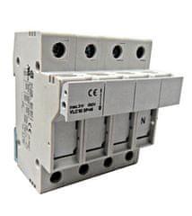 Schrack Pojistkový odpínač 50A IS506145 3P+N na válcové pojistky 14x51 mm Schrack
