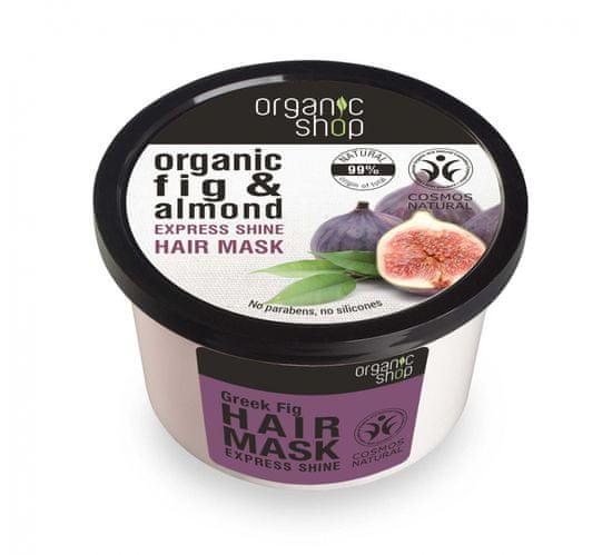 Natura Siberica Organic Shop - Figa a Mandľa - Maska na vlasy