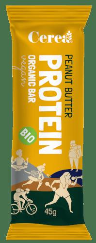 Cereabar Protein bar arašidové maslo BIO 45g