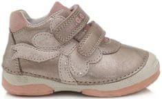 D-D-step 038-899 dekliški celoletni čevlji, šampanjec, 20