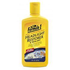 Formula 1 Headlight restorer & sealant (237 ml)