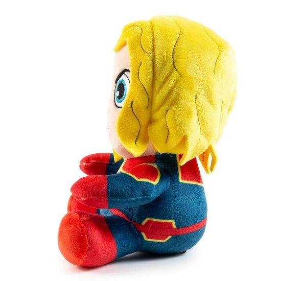 Kidrobot Phunny Captain Marvel Sitting plišasta igrača, 20 cm