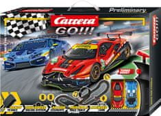 CARRERA tor wyścigowy GO 62526 Race the Track