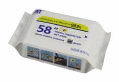 Vlhčené ubrousky antibakteriální - 26