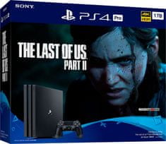 SONY PlayStation 4 Pro - 1TB + The Last of Us Part II (PS719379300) - zánovné