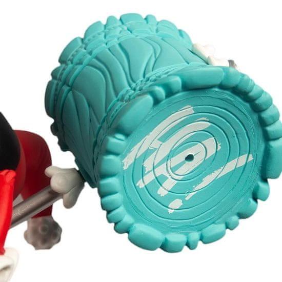 Kidrobot Harley Quinn Medium figurica, rdeča