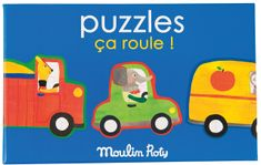 Moulin Roty Puzzle Auta