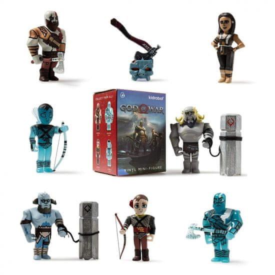 Kidrobot God of War Mini Series figurica, 8 cm