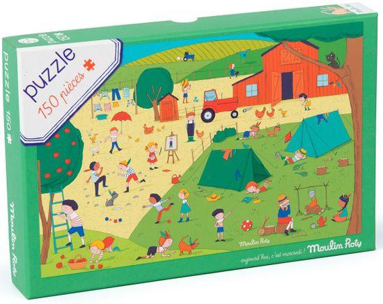 Moulin Roty Puzzle Letní den s přáteli
