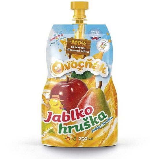 Ovocňák Mošt Jablko hruška 250ml
