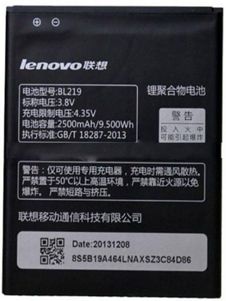 Lenovo BL219 Original Baterie 2500mAh Li-Pol (Bulk) 26225