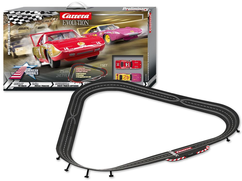Carrera Autodráha EVO 25238 Motodrom Racer