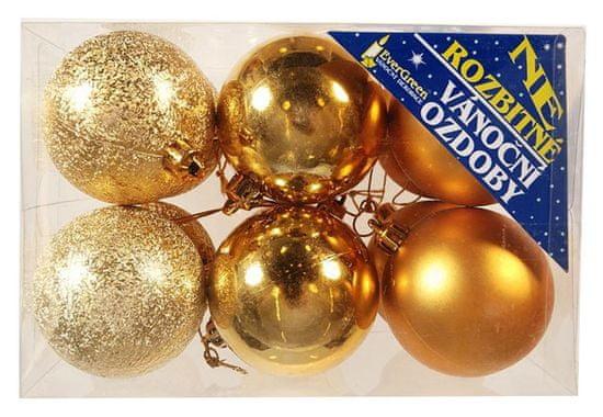 EverGreen Božićne kuglice 4 l+4 m+4 pers Box pr.6 1
