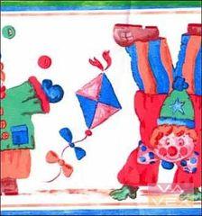 Vavex Dětská tapetová bordura 1251801, Vavex