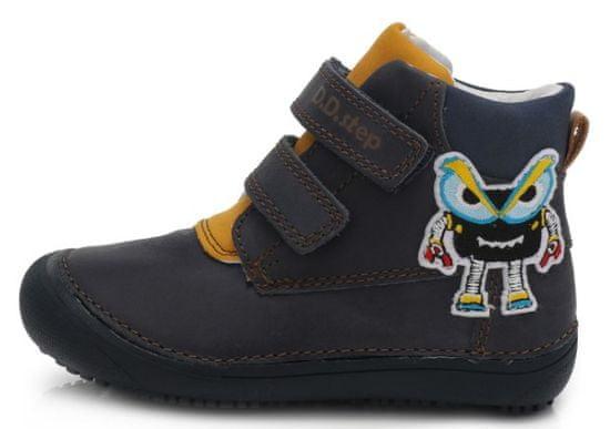 D-D-step botki chłopięce barefoot 063-879