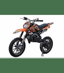 Sunway Motocykl MINICROSS 49cc 2t Xmotos XB81 Červená