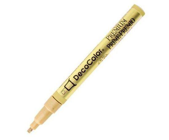 Marvy Lakový popisovač decocolor premium zlatý hrot 3mm,