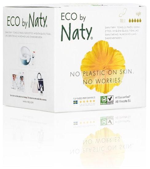 Naty Nature Babycare Dámské ECO vložky - noční (10 ks)