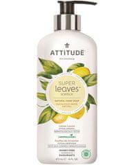 Interkontakt Přírodní mýdlo na ruce ATTITUDE Super leaves s detoxikačním účinkem - citrusové listy 473 ml