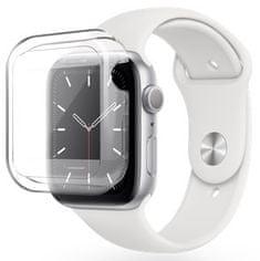 EPICO TPU Case ovitek za Apple Watch 4/5 (44 mm), prozoren, plastičen