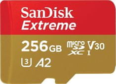 SanDisk microSDXC Extreme Mobile Gaming 256GB (SDSQXA1-256G-GN6GN)