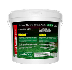 Life Force Natural Humic Acids Super Trávník, organické hnojivo na trávník, aktivátor půdy. Akční set 2 x 3 Kg