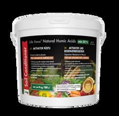 Life Force Natural Humic Acids pro organické zemědělství, akční set 2 x 3 Kg, organické hnojivo a aktivátor půdy, zvláště vhodné i pro pokojové rostliny.
