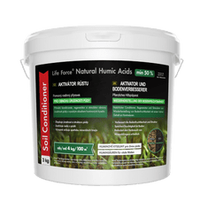 Life Force Natural Humic Acids pro obnovu úrodnosti půdy, akční set 2 x 3 Kg, aktivátor půdy, zvláště vhodný i pro pokojové rostliny oslabené a zanedbané.