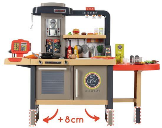 Smoby Chef Corner Bistro otroški bistro s kuhinjo