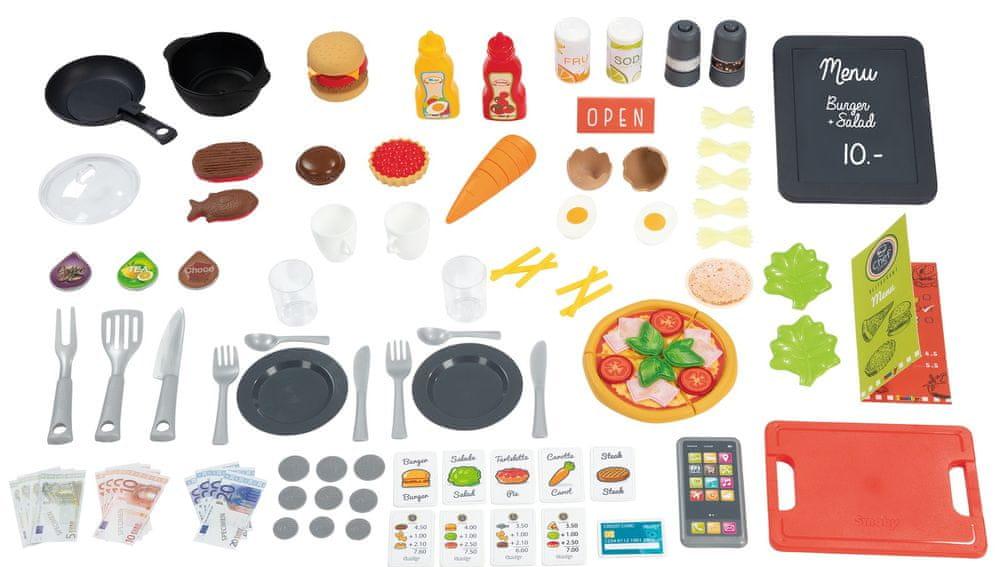 Smoby Chef corner Bistro - rozbaleno