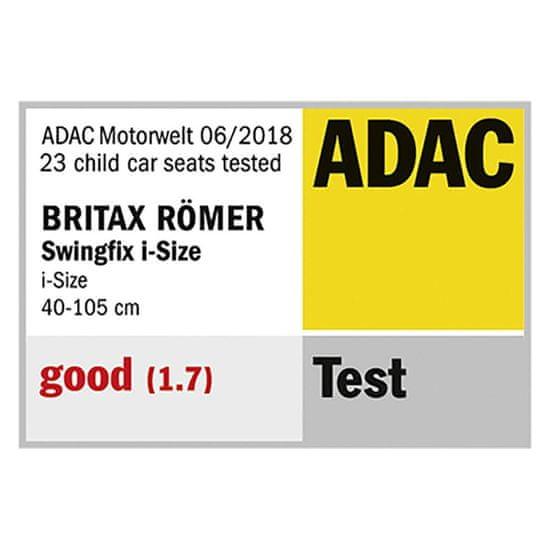 Britax Römer Swingfix avtosedež, 0+/1, i-Size, Blue Marble - Odprta embalaža