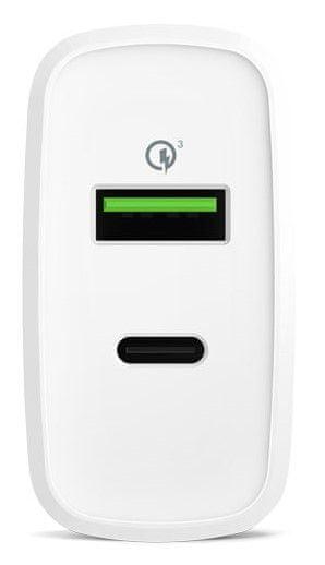 EPICO punjač 36W PD+QC Charger 9915111100020, bijela