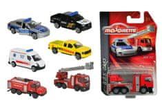 Majorette Auto hasiči, ambulance kovové