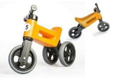 Teddies Odrážedlo FUNNY WHEELS Rider Sport oranžové 2v1, výška sedla 28/30cm nosnost 25kg 18m+