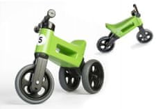 Teddies Odrážedlo FUNNY WHEELS Rider Sport zelené 2v1, výška sedla 28/30cm nosnost 25kg 18m+