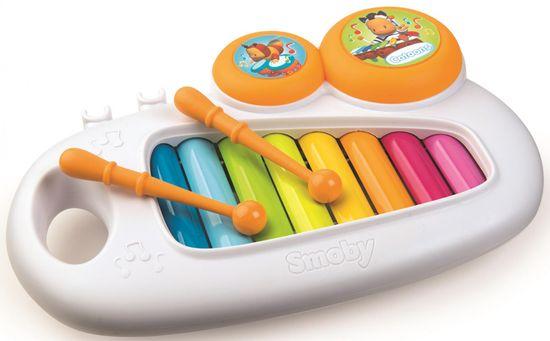 Cotoons ksylofon dziecięcy, biały