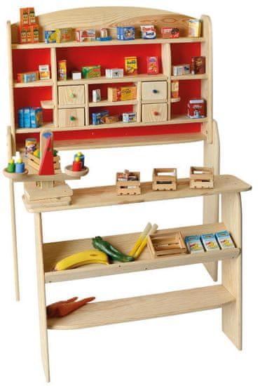 JOHN drewniany sklep