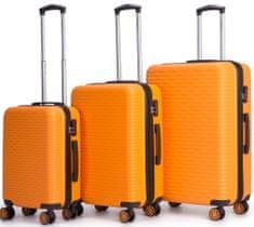 Swiss Sada kufrů Lux Z Orange 3-set