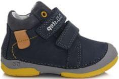 D-D-step fiú egész éves cipő 038-501, 20, kék