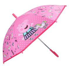"""Vadobag Mechanikus esernyő """"Peppa malac"""" - rózsaszín"""
