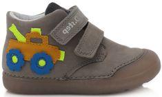 D-D-step fantovska obutev 066-522A, fluorescentna, 24, sivi