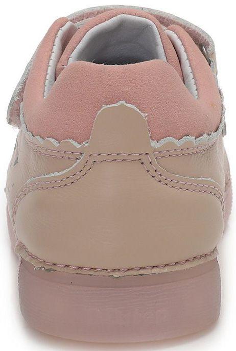 D-D-step dívčí svítící obuv 068-937A 25 růžová